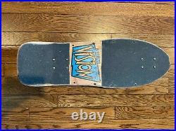 Vintage Vision Gator Mark Rogowski Pro Model Skateboard Neon Pink Complete LOOK