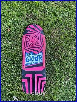 Vintage Vision Gator Skateboard Deck OG Original