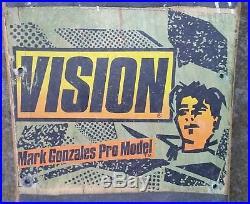Vintage Vision Mark Gonzales skateboard (not a reissue)