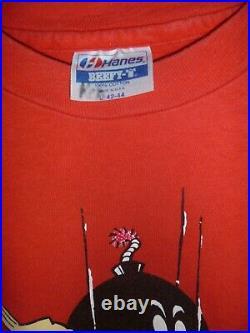 Vintage World Industries Jeremy Klein Super Mario Bomber Vtg Skateboard Shirt