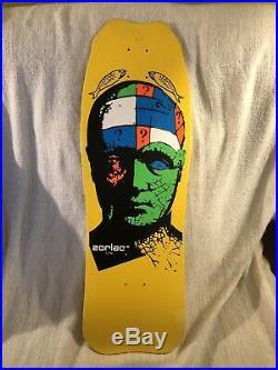 Vintage Zorlac Skateboard Deck
