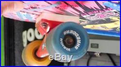 Vintage all Original vision Psycho Stick skateboard complete tracker trucks