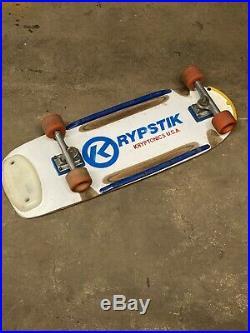 Vintage kryptonics skateboard Krypstik