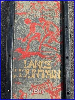 Vintage powell peralta lance mountain 1985 original skateboard