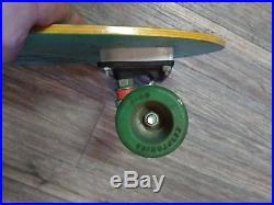 Vintage santa cruz john hudson skateboard acs krytonics