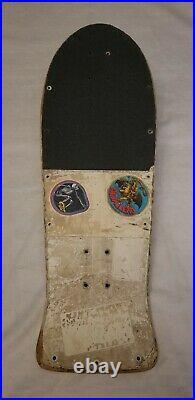 Vintage santa cruz skateboard deck keith meek slasher
