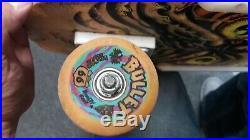 Vintage santa cruz skateboard robb roskopp 80's complete