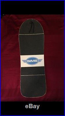 Vintage sims jeff phillips break out skateboard deck