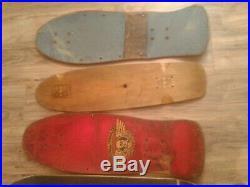 Vintage skateboard 8 deck lot Powell Peralta Hosoi Blockhead Gator +++++