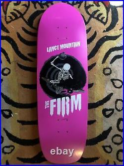 Vintage skateboard Deck Lance Mountain The Firm Pink 2004