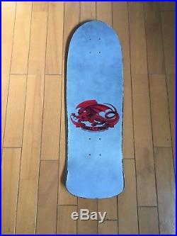 Vintage skateboard OG Powell Peralta Tommy Guerrero 1986 dagger XT silver