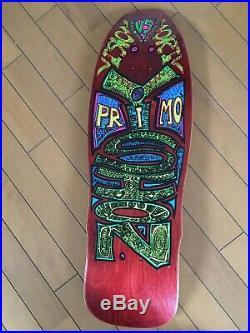 Vintage skateboard OG Vision Primo Desiderio