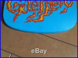 Vintage skateboard Powell Peralta 1986 Tommy Guerrero XT dagger round nose