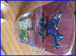 Vintage skateboard Sma Jim Thiebaud vilain mint in shrink