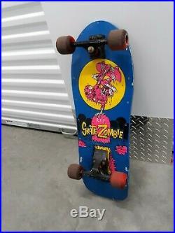 Vintage skateboard Valterra Skate Zombie Skateboard Concave Team Deck