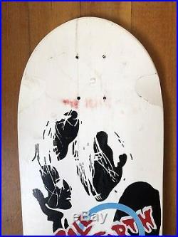 Vintage skateboard deck Bill Danforth Madrid Original 1980s NOS
