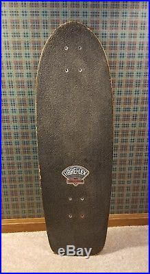 Vintage skateboard deck G&S Dennis Martinez Fibreflex Flying Aces OG 1970's