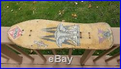 Vintage skateboard deck World Industries Mike Vallely Mamouth OG early 90's