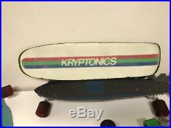 Vintage skateboard kryptonics dogtown sims