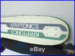 Vintage skateboard kryptonics dogtown sims Santa Cruz