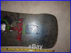 Vintage skateboard powell mike mcgill deck  freestyle deck 1980s simms