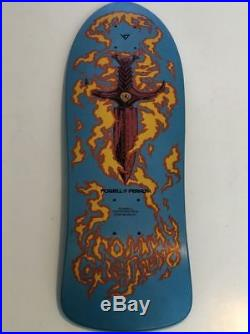 Vintage skateboard table (old new stock) Powell Peralta Tommy Guerrero Blue