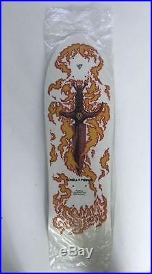 Vintage skateboard table (old new stock) Powell Peralta Tommy Guerrero White S