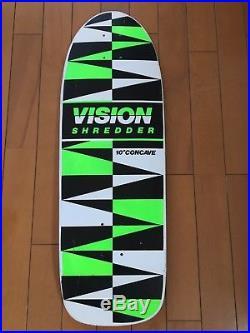 Vintage skateboard vision 1985 shredder 10 concave