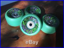 Vintage slime balls 65m skateboard wheels