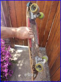 Vintage tony alva skateboard