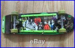Vintage world industries Rodney Mullen shureshot skateboard deck 1990s T bone