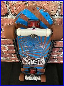 Vision Mark Gator Rogowski OG 1980s Vintage Skateboard Deck Complete FULL SIZE