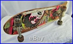 Vision Mark Gonzales Vintage Skateboard Original INDEPENDENT TRUCKS, BULLET