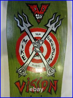 Vision Mike Crescini 1988 Pro Model Skateboard Fork Crew VB never skated NEW