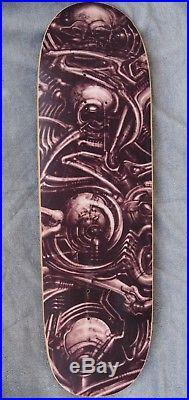 Vtg OG NOS 90's Powell Peralta Lance Conklin Skateboard H. R. Giger Slick Supreme