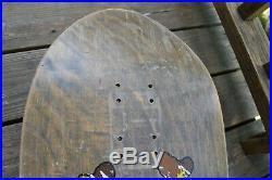 ZORLAC Metallica Pushead art rare vintage skateboard deck 1989