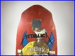 Zorlac Metallica Pushead 1987 Pirate Skateboard Deck RARE VINTAGE ORIGINAL